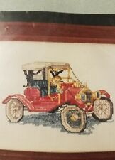 TIN LIZZY CAR MODEL T JALOPPY Cross My Heart COUNTED CROSS STITCH KIT NEEDLEART