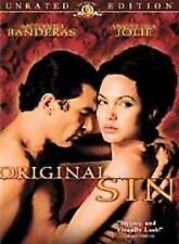 Original Sin (DVD, 2002, Unrated Version) Antonio Banderas, Angelina Jolie