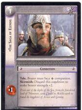Lord Of The Rings CCG FotR Card 1.R114 The Saga Of Elendil