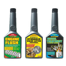 3 Pack Engine Flush + Hydraulic Valve Lifter Additive + Diesel Injector Cleaner