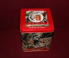 RED MAN Chewing Tobacco Tin EMPTY 1994 Limited Edition Bruce Miller Canvasback