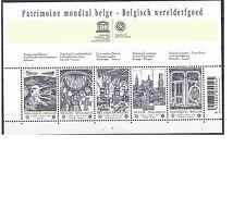 belgie mi blok  mi 3939-3943 (2009) postfris xx