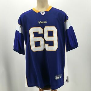 Reebok Jared Allen 69 Jersey Future Hall Of Famer NFL MN Vikings Purple Mens 54