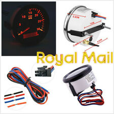 Car SUV 85mm Round Digital Tachometer 3000RPM Hourmeter REV Counter Tacho Meter