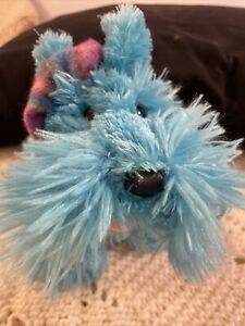 2006 Princess Soft Toys Teal Scottie Dog with Hat