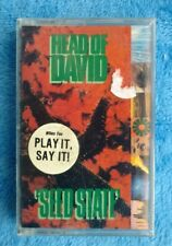 NEW SEALED HEAD OF DAVID Seed State Cassette 1991 Goth Industrial Metal Rock
