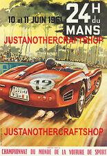 Le Mans 1961 Motor Racing Large A3 Size Poster Advert Sign Leaflet