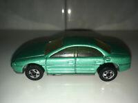 RARE VINTAGE 1993 Hot Wheels Oldsmobile Aurora Green