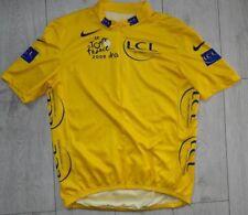 """Le Tour De France 2006 """"L"""" Nike Maglia Cycling Shirt Trikot Yellow Jersey"""