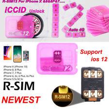 RSIM 12+ 2018 R-SIM Nano Unlock Card Fits iPhone XS 8 7 6 6s 5S 4G iOS 10 11 12