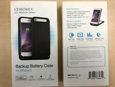 Chromo Rechargeable Battery Case for iPhone 6 6s 2500mAh Black