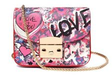 Graffiti Pink Evening Bag