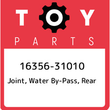 16356-31010 Toyota Joint, water by-pass, rear 1635631010, New Genuine OEM Part