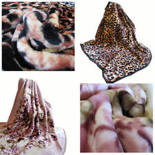 Pictorial Floral Blankets