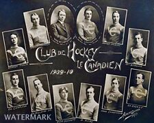 1909 - 10 Montreal Canadiens Team 8 x 10 Photo Picture FREE SHIPPING