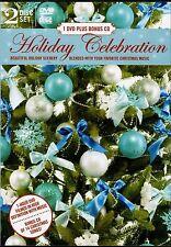 HOLIDAY CELEBRATION: VIRTUAL HD SCENES DVD + SMOOTH JAZZ CHRISTMAS FAVORITES CD!