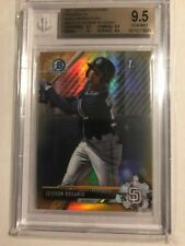 JEISSON ROSARIO Padres 2017 Bowman Chrome BGS 9.5   GOLD REFRACTOR # 22/50 pop 2