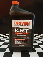Driven Racing Oil - Krt - 4 Stroke Karting Racing Oil - 0w-20 (3 Quart Pack)
