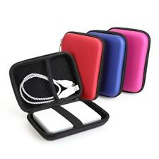 """Portable 2.5"""" External USB Hard Drive Disk HDD Cover Carry Pouch Bag Case WA"""
