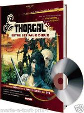 Livre BD Thorgal + DVD 2H NEUF idée CADEAU ORIGINAL !