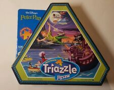 Peter Pan Triazzle Jigsaw Puzzle...528 Pieces..Triangular Pieces...RARE Complete