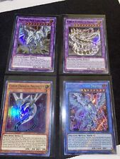 Yugioh! Dragons lot of 4. Mint condition, non played