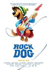 ROCK DOG MOVIE POSTER 2 Sided ORIGINAL 27x40 J.K. SIMMONS LUKE WILSON