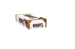 Hersheys White Chocolate With Almonds 1.45oz Pack of 36
