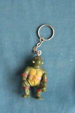 TMNT teenage mutant ninja turtle action figure Key Chain Toy bootleg 1990's  #7