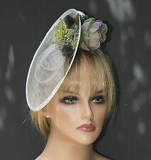 Wedding Hat Fascinator Women's Derby Hat Percher Saucer Hat Headpiece Fascinator