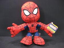 "AMAZING SPIDER-MAN Marvel Comics 8"" Just Play Plush Action Toy Spiderman"