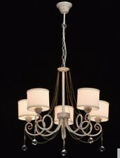 MW-Light 448012405 pendant light white and gold with white shades Shop Closure