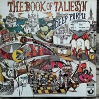 Deep Purple/The Book Of Taliesyn brazil 1973 reissue very good+ lp vinyl