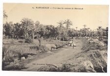 marrakech  piste dans les environs de marrakech