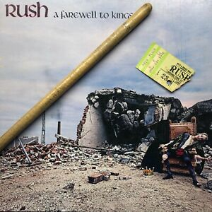 Rare 1978 Neil Peart Rush Drumstick, Used Onstage, A Farwell To Kings Tour