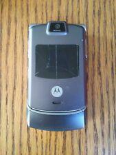 Motorola Razr V3 - dark grey silver (Verizon) Cellular Phone