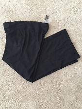 Womens TO THE MAX work~dress pants trousers Black Wide Leg size 14 NWT
