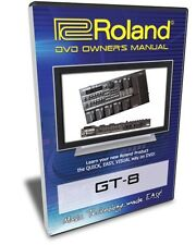 Roland (Boss) GT-8 DVD Video Training Tutorial Help