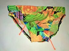 """Speedo Flipturns Mens swimwear 5cm allover Brief 70cm/28"""""""