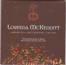 Loreena McKennitt - Sampler CD 9 - Full Catalogue (1985-1997 - CD Promo)