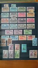 Afrique Equatoriale Française  Collection compléte manque 3 photos