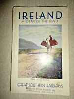 Great Southern Railways Travel Guide Book Ireland Gem Of The Sea Bog Road Photos