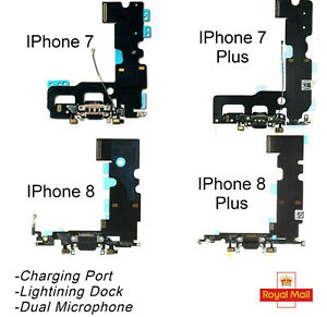 For iPhone 7,7 Plus iPhone 8,8 Plus Charging Port Lightning Dock Mic Replacement