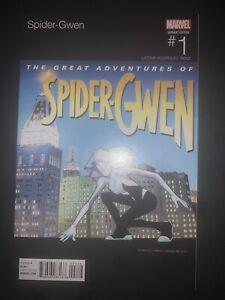 (2015) SPIDER GWEN #1 HIP HOP SLICK RICK VARIANT COVER