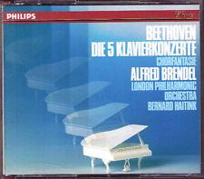 Alfred BRENDEL BEETHOVEN Piano Concerto No.1 2 3 4 5 Choral Fantasy HAITINK 3CD