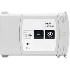 Tinte für HP DesignJet 1050 1055 CM / Nr. 80 / C4871A BLACK Cartridge
