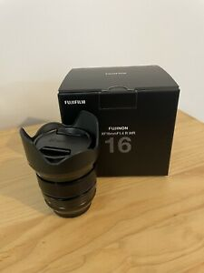 Fujifilm XF16mm F1.4 R WR Fuji Lens