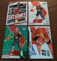 LOT (4) Trae Young 2019-20 Mosaic Prizm Green Base Got Game Give And Go