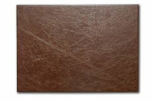 A2 Desk Mat Deluxe High Quality UK Made Italian Hide Leather Full Size Gift