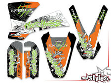 KTM SX 50 65 -2015 | SX 85 -2012 | ama energy decoración Decals kit Pegatina Sticker